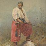 """""""Zaporozets"""", 1892.S.Vassilkovskij"""