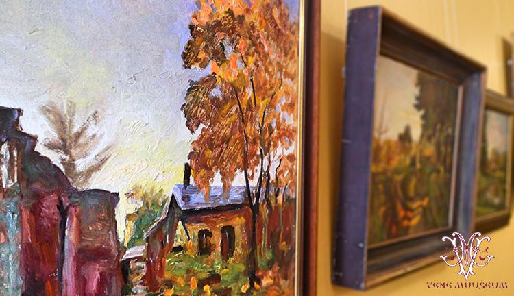 Ivan Sokolovi kunsti puhul on märkimisväärne see, et maalid pakuvad huvi nii kaugelt kui ka lähedalt vaadates. Jõulised pintslitõmbed ning julgus kujutluses.
