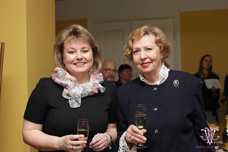 MTÜ Vene Muuseumi juhatuse liige Irina Budrik ning Galina Varlamova (TTÜ)