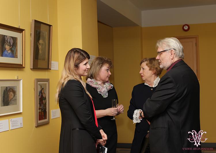 MTÜ Vene Muuseumi juhatuse liige Irina Budrik, rahvasaadik Viktoria Ladõsnkaja (IRL), Galina Varlamova (TTÜ) ning akadeemik Margus Lopp (TTÜ)