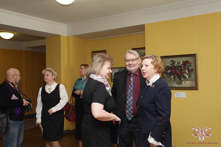 Ivan Sokolovi näituse avamine