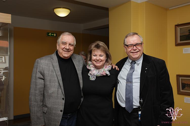 MTÜ Vene Muuseumi juhatuse liige Irina Budrik, rahvasaadikud Aadu Must (Keskerakond) ning Vladimir Velman (Keskerakond)